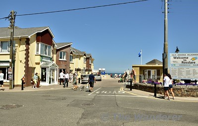 Rosslare Strand village. Sun 08.07.18