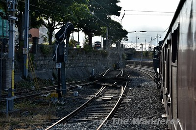 The disconnected sidings at Dun-Laoghaire. Sun 08.07.18
