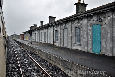 Passing the former Athlone Midland Station. Wed 13.06.18