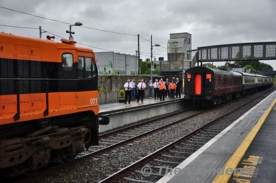 071 runs around the RPSI Cravens at Athenry. Wed 13.06.18