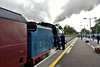 """85 has plenty of steam to spare as it blows off shortly before leaving Killarney with the 0925 Killarney - Limerick """"Emerald Isle Explorer"""" Spl. Sun 08.09.19"""