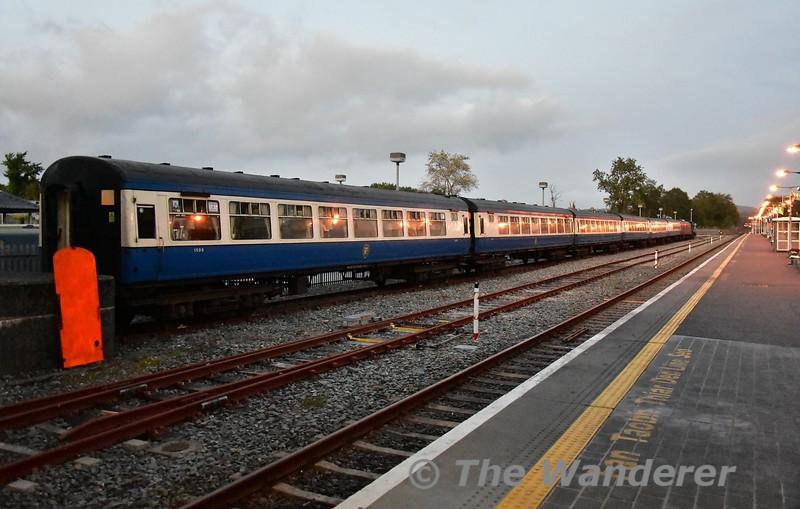 The RPSI set stabled in Killarney. Fri 06.09.19