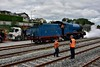 85 heads into Mallow Yard to run around and also the opportunity was taken to coal and water the locomotive. Sat 07.09.19