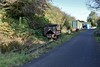 Behind the maintenance shed there is a long abandoned ballast wagon. Sun 27.10.19