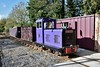 The WSVR's 2nd loco at Kilmeaden. Sun 27.10.19