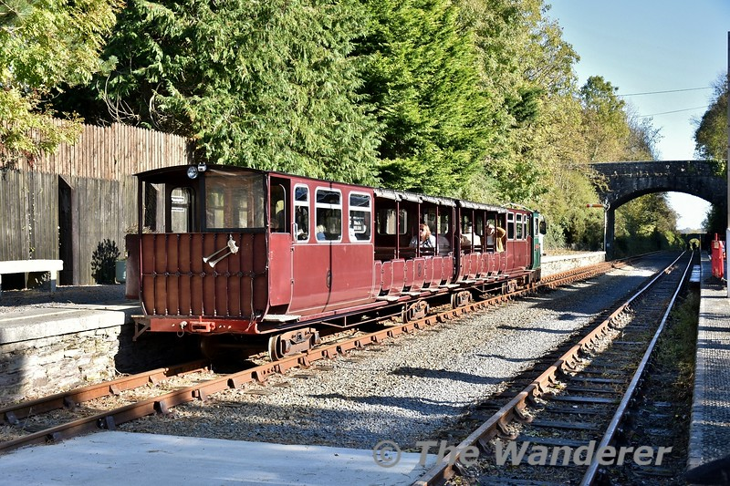 WSVR Train at Kilmeaden. Sun 27.10.19