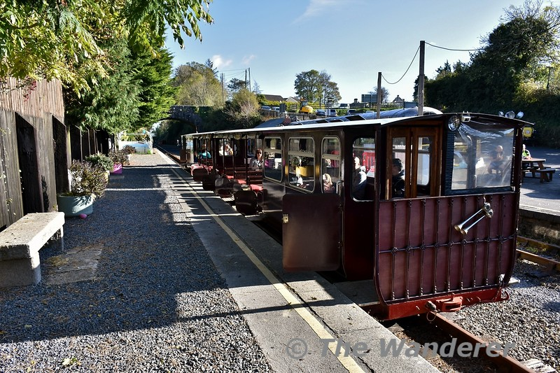 WSVR Train at Kilmeaden. Sun 27.10.19