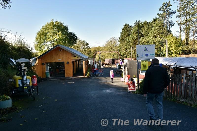 Entrance to Kilmeaden Station. Sun 27.10.19