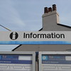 Hoscar: Ex Regional Railways Logo Info signs pic 1 of 2