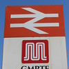 2nd June 2016 <br /> <br /> Ex GMPTE logo sign Bromley Cross Station