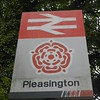 Pleasington <br /> <br /> 21st June 2016 <br /> <br /> Between Blackburn and Colne <br /> <br /> I found this while doing the Station and went back a few days later <br /> <br /> to get the sign.