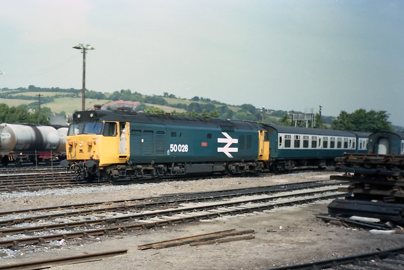 50028 - Exeter Stabling Point 25/7/85