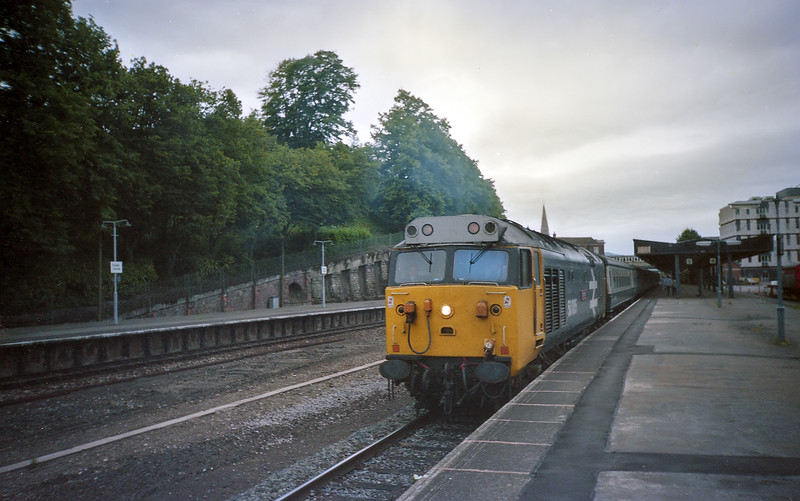 50005 - Exeter Central 27/7/85