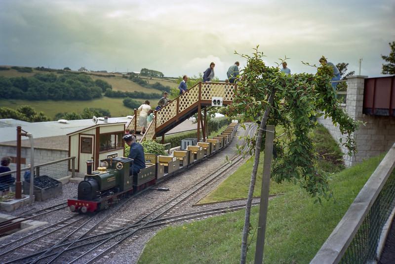 Beer Heights Light Railway - 31/7/85