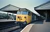 50014 - Exeter St David's 25/7/85