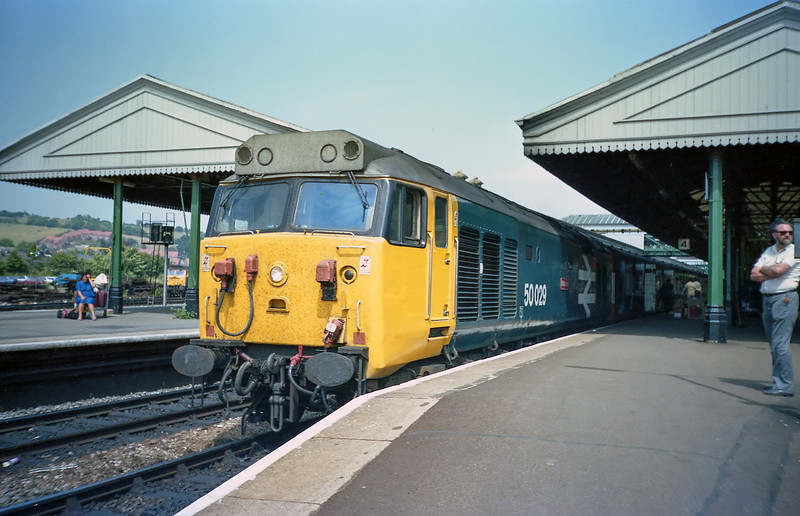 50029 - Exeter Saint David's 25/7/85