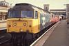 47519+47XXX - Exeter St David's Summer 1992