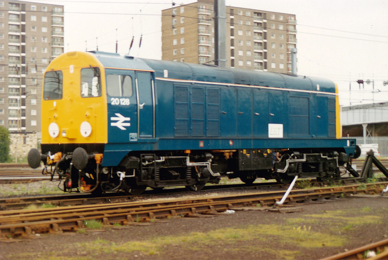 20128 awaits her first turn/release from BRML DR on 16th May 1993