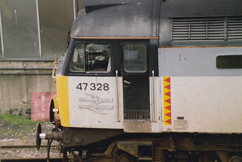 47328 at Tinsley 16th May 1993