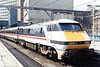 91007 at journeys end after arriving with the 14:05 London Kings Cross Leeds on 29th May 1993