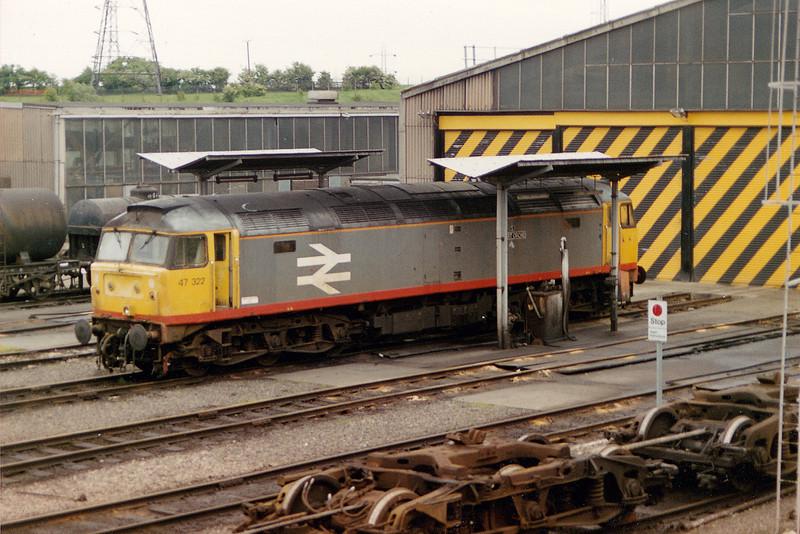 47322 at Tinsley on May 16th 1993