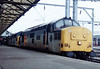 37073+37110 prior to departure from Crewe with the 1Z43 06:50 Crewe to Penzance CFA 'The Cornishman' Railtour on 31st May 1993