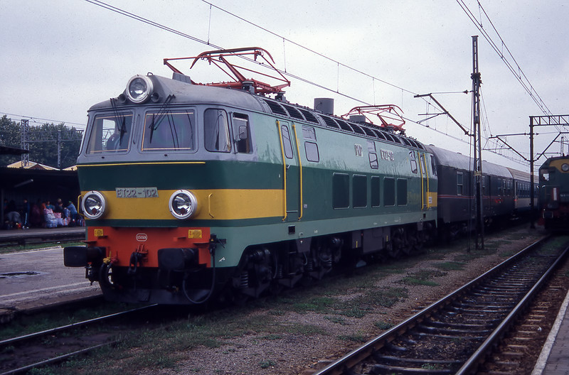 ET22-102 at Przemsyl 16/9/94