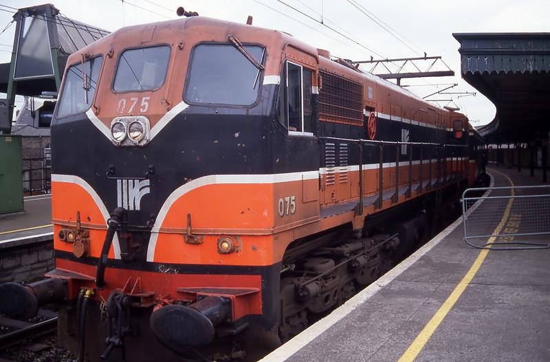 075 - Dublin Connolly 01/03/96