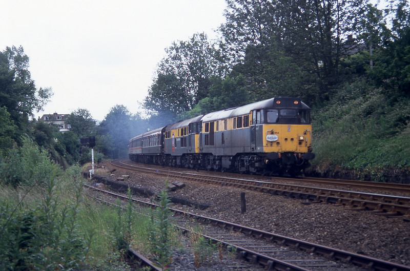 31554 + 31112 - Dryclough Junction - 13/7/1996