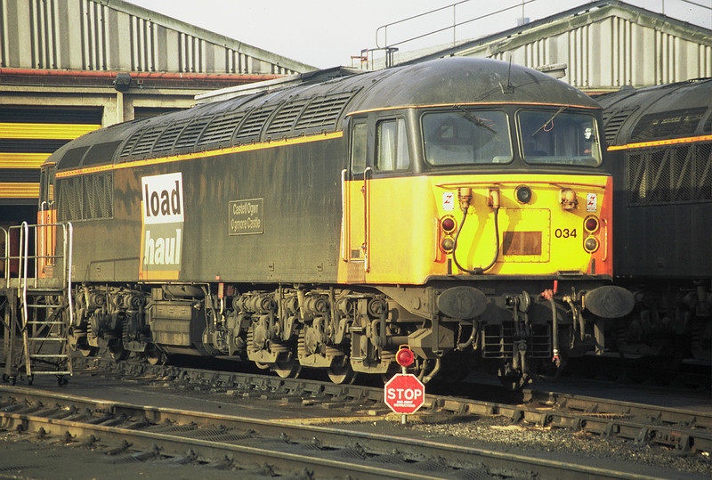 56034 at Knottingley in the spring 1998.