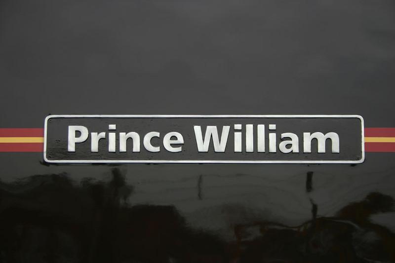 47798 'Prince William' nameplate