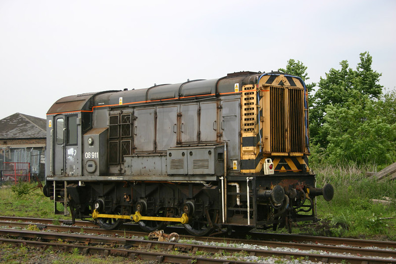 The NRM's (as then) new arrival/gift from EWS was used to position the Display exhibits