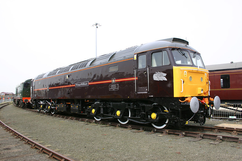 47798 sparkles in her new coat of paint