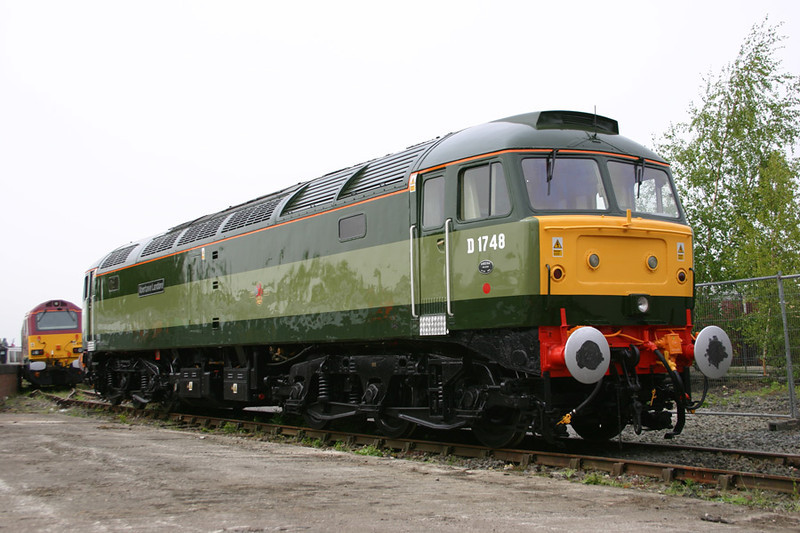 47815 drew many admiring glances. The quality of the paint job was outstanding :-)