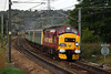 37408 powers past Kirkstall Loop with the last ATN Loco Hauled Service the 1E47 15:32 Carlisle-York complete with HM Depot Diamond and Arriva Farewell to Class 37 Headboard on 25th September 2004.