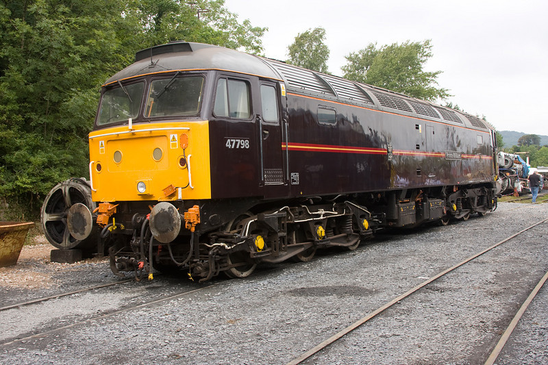 47798 at the WCRC Carnforth Open Day July 26th 2008