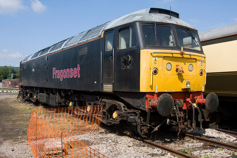 47355 at the WCRC Carnforth Open Day July 26th 2008