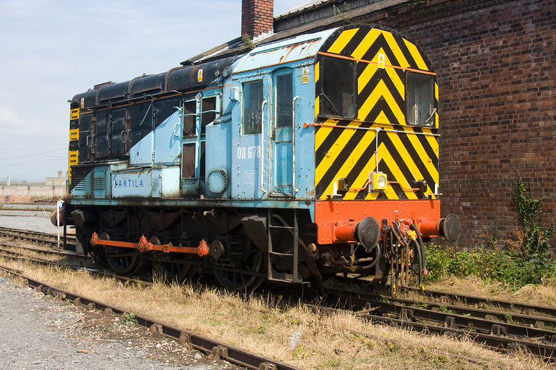 08678 at the WCRC Carnforth Open Day July 26th 2008