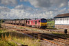 60040 passing Horbury Junction with a 6E32 Preston to Lindsey tanks on October 6th 2010.