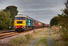 47580 heads past Dewsbury East Junction with a 5Z79 12:25 Norwich to Carnforth ECS on October 17th 2010.