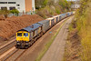 66304 at Bradley Junction, Deighton with a diverted 4M16 Grangemouth to Daventry Intermodal on April 9th 2011