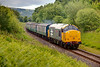 37901 in Burrs Cutting with a 2J74 13:24 Ramsbottom to Bury on July 1st 2011