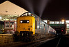 55022 stands at Bury on the ELR with a 1970/80's cameo on January 29th 2011.