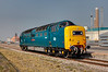 55022 stabled between duties at the Alcan plant at Lynemouth on a beautiful April 19th 2011.