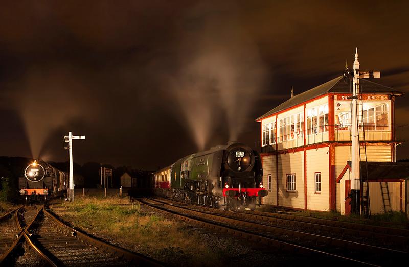 46233 + 73129 - Swanwick Junction - 14/7/2012