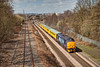 37409 passing Oakenshaw, Wakefield with a 1Q13 12:20 HM to Doncaster Test Train on April 16th 2013