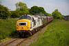37250 leads D6700 out of Leyburn with the 13:00 Leeming Bar to Redmire 0n 9th June 2013