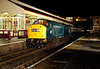 345 posed at Bury with additional lighting on an Ian Furness/CFPS (in conjunction with the ELR) private photo charter on 21st March 2014