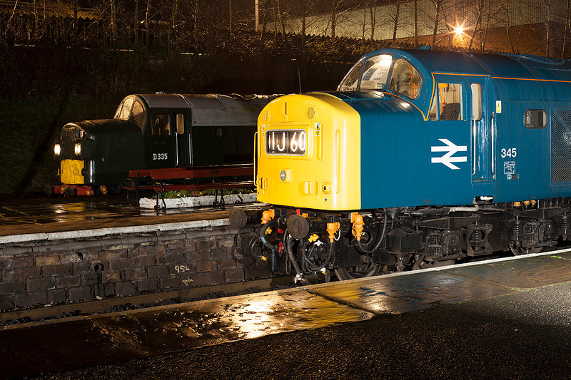 D335+345 posed side by side during an Ian Furness/CFPS joint private photo charter on 21st March 2014
