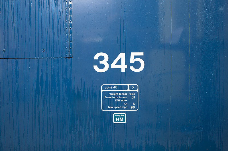 345 proudly wearing the HM depot sticker